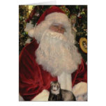 Santa Claus and the Ferret Stationery Note Card