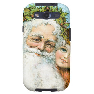 Santa Claus and young girl Samsung Galaxy SIII Covers