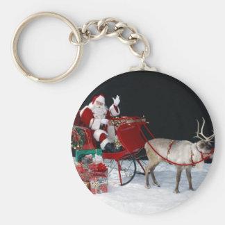Santa-Claus-Angie-.jpg Key Chain