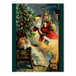 Santa Claus Arrives Postcards