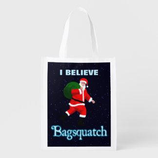 Santa Claus - Bagsquatch Reusable Grocery Bag