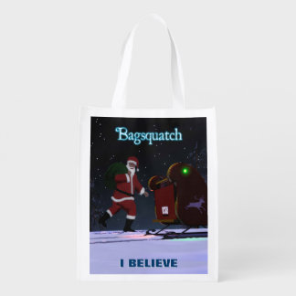 Santa Claus - Bagsquatch Reusable Grocery Bag