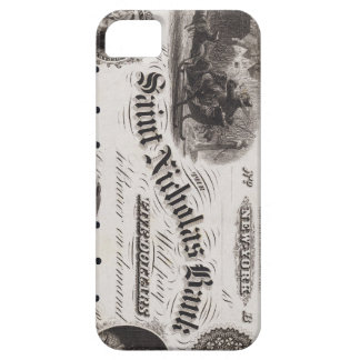 Santa Claus Bank Antique Money Currency Phone Case iPhone 5 Case