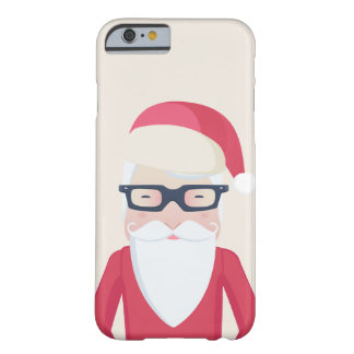 Santa Claus Barely There iPhone 6 Case