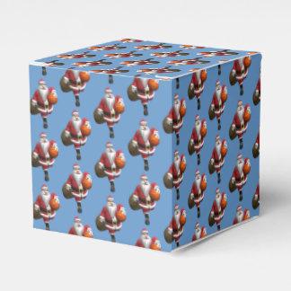 Santa Claus Basketball Player Favor Box