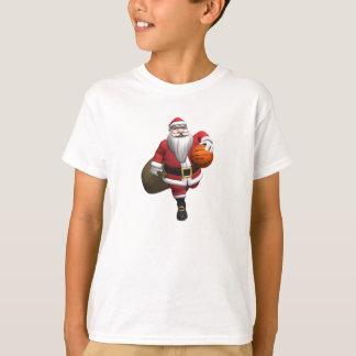 Santa Claus Basketball Player T-Shirt