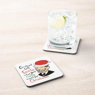 Santa Claus Beverage Coaster
