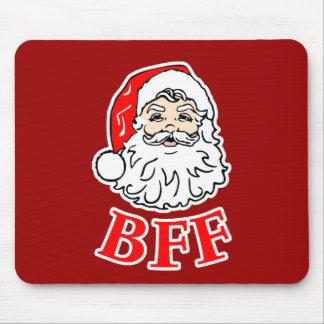 Santa Claus BFF Bestie! Mouse Pad