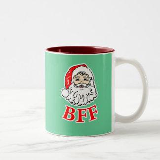 Santa Claus BFF Bestie! Mugs