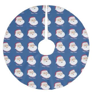 Santa Claus Brushed Polyester Tree Skirt
