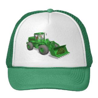 Santa Claus Bulldozer Operator Trucker Hat