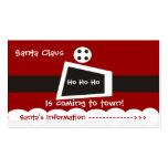 Santa Claus Business Card Templates