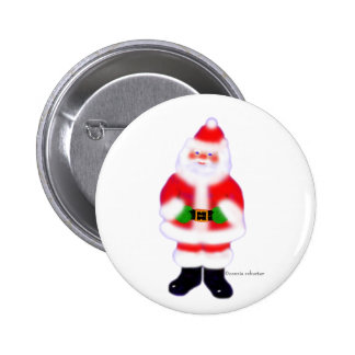 Santa Claus Pinback Buttons