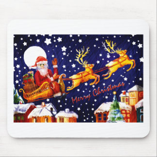 Santa Claus by Albruno. Mouse Pad