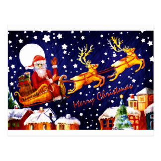 Santa Claus by Albruno. Postcard