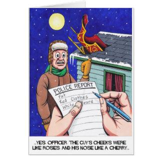 Santa Claus Calamity! Card