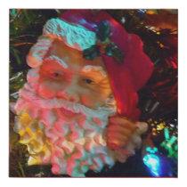 Santa Claus Canvas