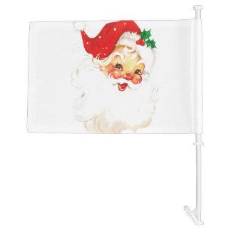 Santa Claus Car Flag
