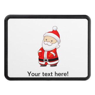 Santa Claus cartoon Hitch Cover
