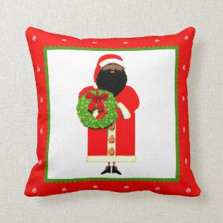 Santa Claus Cartoon Throw Pillow