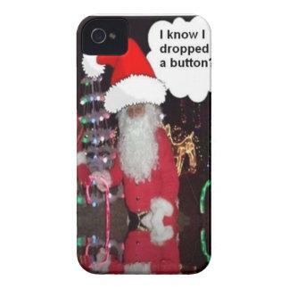 Santa Claus iPhone 4 Case-Mate Cases
