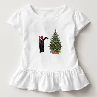 Santa Claus Cat Shirt