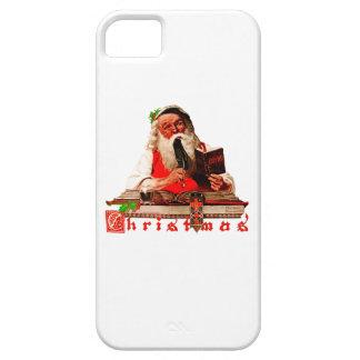Santa Claus Checking His List iPhone SE/5/5s Case