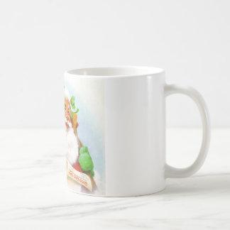 Santa Claus -Checking His List Coffee Mug