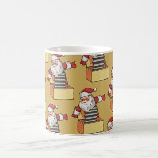 Santa Claus Christmas Fun Coffee Cup Mug