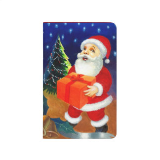 Santa Claus Christmas Gifts Holiday Presents Xmas Journal