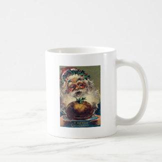 Santa Claus Christmas Ham Holly Coffee Mug