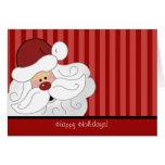 SANTA CLAUS Christmas Holiday Folded Card