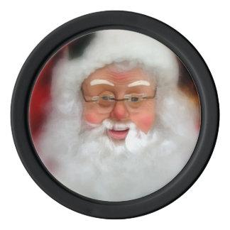 Santa Claus Christmas Holiday Poker Chips