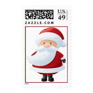 Santa Claus Christmas Holiday Postage