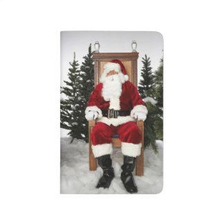 Santa Claus Christmas Holidays Xmas Journal