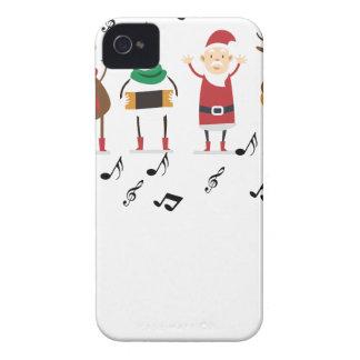santa claus christmas iPhone 4 cover