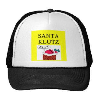 SANTA claus christmas joke Hat
