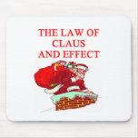 SANTA claus christmas joke Mouse Pad