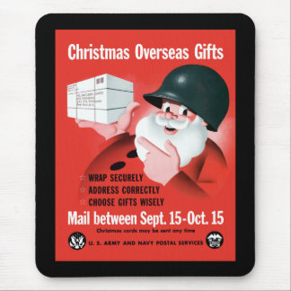 Santa Claus - Christmas Overseas Gifts Mouse Pad
