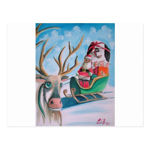Santa Claus Christmas Post Cards