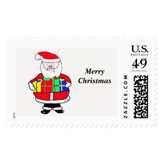 Santa Claus Christmas Postage Stamp