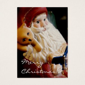 Santa Claus • Christmas Profilecard / Gift Tag