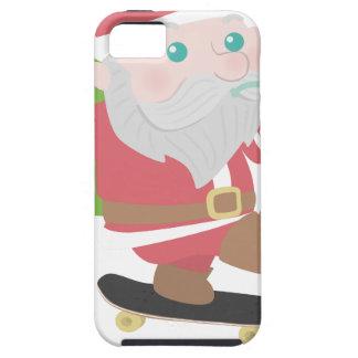 santa claus christmas reindeer snow man iPhone SE/5/5s case