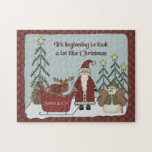 Santa Claus Christmas Scene 10x14 ONLY! Puzzle