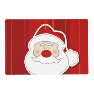 Santa Claus Christmas Series Placemat