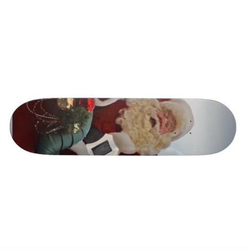 Santa Claus Christmas Skate Board Decks