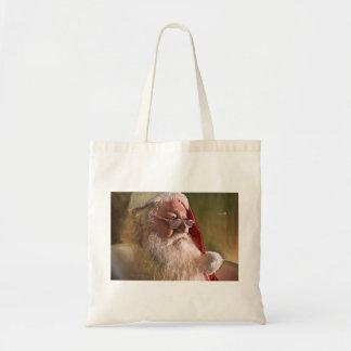 Santa Claus Christmas Tote