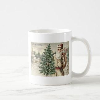 Santa Claus Christmas Tree Sack of Toys Church Coffee Mug