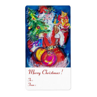 SANTA  CLAUS ,CHRISTMAS TREE TOYS AND GIFTS Whıte Label