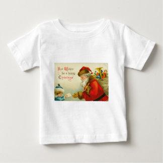 Santa Claus Christmas Vintage Style T Shirts